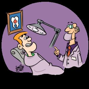 tannstell ved dysfagi