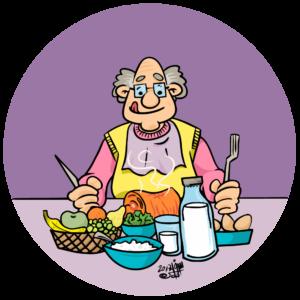 mat for eldre